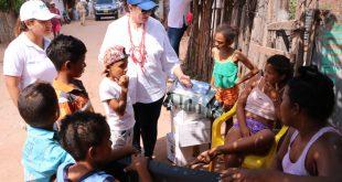 Gobierno departamental entregó ayudas humanitarias a damnificados de la pasada ola invernal en el municipio de Agustín Codazzi