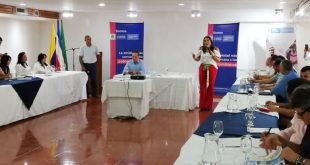 Directora de Prosperidad Social se reúne con alcaldes de Cesar