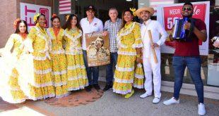 Con el afiche, música y folclor se promocionó en Valledupar el 53° Festival de la Leyenda Vallenata