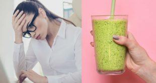Bebidas para combatir el cansancio mental