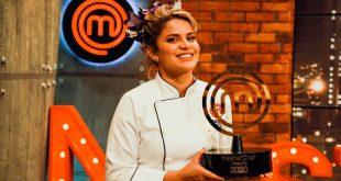 Adriana Lucía ganadora de MasterChef Celebrity Colombia