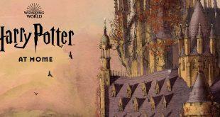 J.K Rowling crea Harry Potter at Home