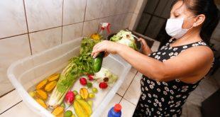¿Desinfectas correctamente los alimentos antes de guardarlos en casa?