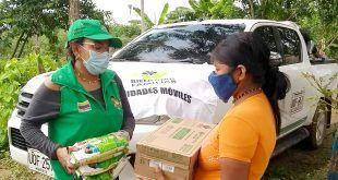 ICBF atiende a familias de la comunidad Embera katío en Córdoba