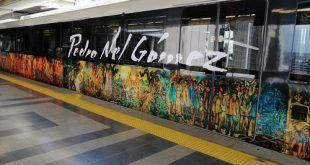 El Metro de Medellín le rinde homenaje al artista Pedro Nel Gómez
