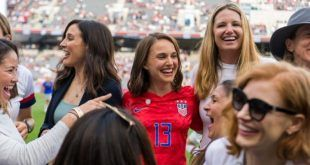 Natalie Portman crea equipo de fútbol femenino