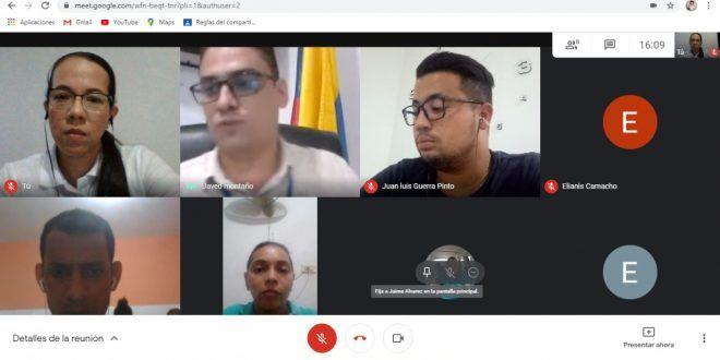 Electricaribe realizó mesa de trabajo virtual con autoridades de Agustín Codazzi