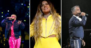 Artistas que formarán parte de la 21.a Entrega Anual del Latin Grammy
