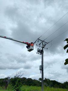 Afinia restableció el servicio de energía en varios municipios del Cesar