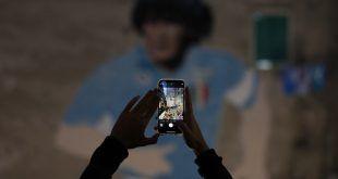 Difunden las que serían las últimas imágenes con vida de Maradona