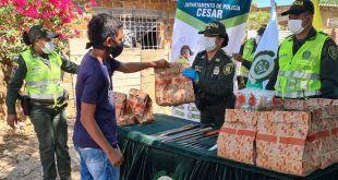Policía Nacional lidera campaña «Es Mejor Amarse Que Armarse»