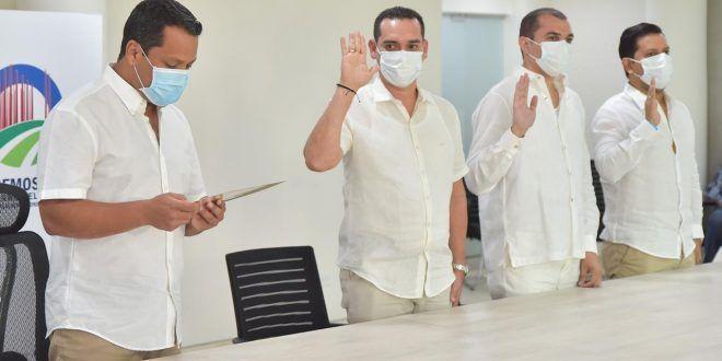 Ante el Gobernador Monsalvo tomaron juramento nuevos funcionarios del Cesar