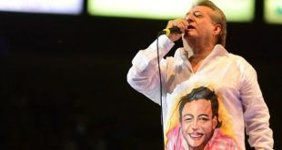 Artistas, músicos, dirigentes políticos y seguidores unidos en oración por la salud de Jorge Oñate