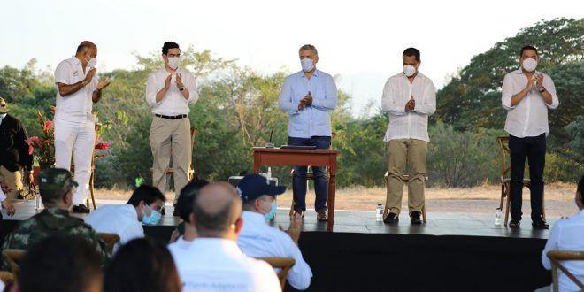Gobierno nacional firma Pacto Territorial Cesar – La Guajira con inversiones por $4,4 billones