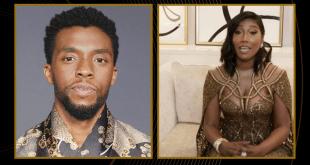 El conmovedor mensaje de la viuda de Chadwick Boseman al recibir el Globo de Oro en su honor