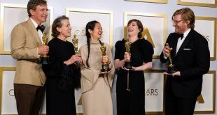 'Nomadland' gana el óscar a la mejor película