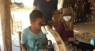 Realizan monitoreo sanitario en ovinos y caprinos en comunidad indígena Wayuu