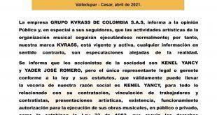 El Grupo Favorito Kvrass continúa y en próximos días dará a conocer los nombres de los nuevos integrantes