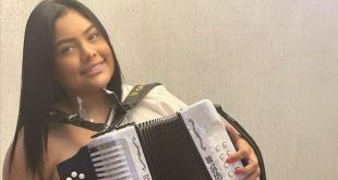 Iván Villazón rinde homenaje a la reina del festival vallenato 2020, Yeimi Arrieta