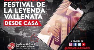 El Festival de la Leyenda Vallenata se recordó desde casa por las redes sociales