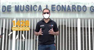 Más de 1.428 niños fueron inscritos en la escuela de música Leonardo Gómez Jr