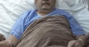 Fabio Zuleta se recupera; en video agradece a Dios por que le dieron de alta en la Clínica Valledupar