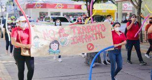 En Valledupar caminaron para decirle No al Trabajo Infantil