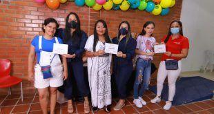 Mujeres en condición de vulnerabilidad fueron beneficiadas con la iniciativa 'Talento de Mujer' de la Alcaldía de Valledupar.